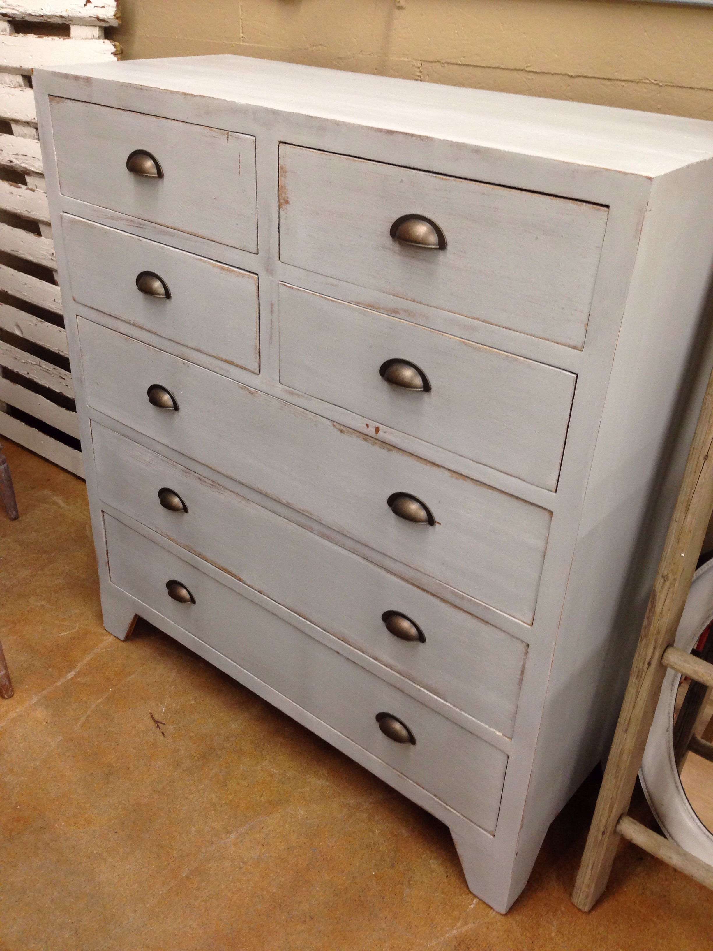 Amazing, vintage modern grey dresser. Carver Junk Company | Recycle. Repurpose. Relove.
