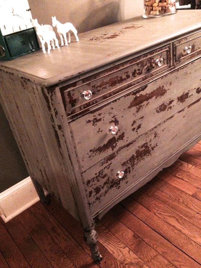 Carver Junk Company Milk Paint Trophy Dresser