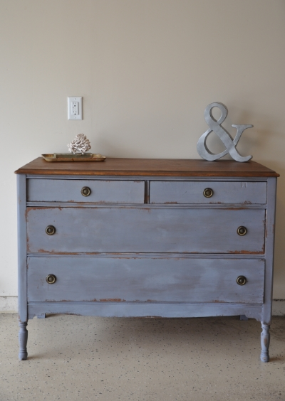 Dried Lavender Milk Paint Dresser by Fab Rehab Designs | Carver Junk Company | Recycle. Repurpose. Relove.