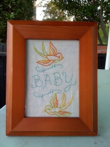 Tattoo Inspired Nursery Artwork | Baby D's Nursery | Carver Junk Company