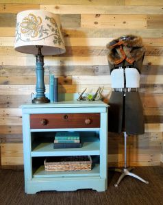 Salvaged Commode Washstand by Cotton Seed Designs | Carver Junk Company