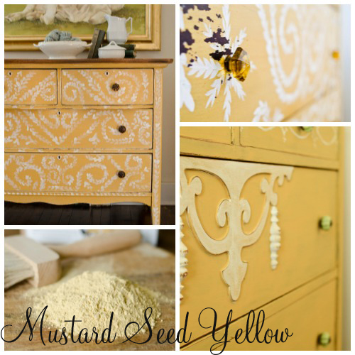 Miss mustard seed s milk paint color of the month mustard - Mustard seed interiors ...